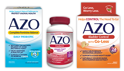 AZO Test Strips Help Patients Get an Idea of What's Going On